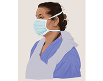 Portraits for NHS Heroes no3