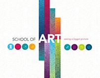 LSU School of Art Identity
