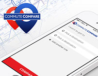 Commute Compare | Interface Design
