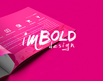imBold Design - Promotional Materials