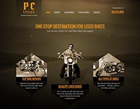 Bike sales and services website