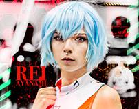 Rei Ayanami | 綾波 レイ | Neon Genesis Evangelion Cosplay