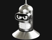 Bender Rodriguez Robot 3D model