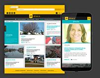 Sitio web Revista Seneca Uniandinos