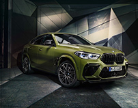 BMW X5M and X6M Competition