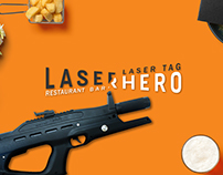 LASER HERO Restaurant-Bar & Laser tag