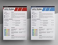 Free Elegant CV Template for Designers