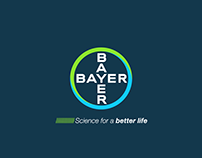 BAYER 2d 3d motion graphic