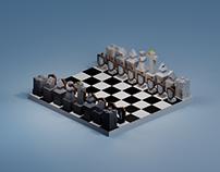 Lowpoly Chessboard