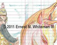 NAMELESS: The Authentic & Magical Ledger Art of EW3