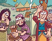 Historia de la Alfarería (Panel)