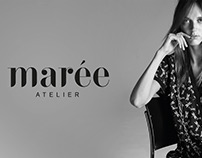 "Branding / Logo for fashion label ""Atelier marée"""