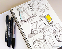 Misc Sketches and Product Ideas, 2016-2017