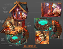Concept-art: Baba Yaga's hut