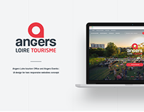 Angers tourism office - UI redesign