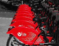 V'LILLE / Bike sharing system - Décathlon 2011