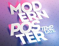 Modern Poster Template Bundle