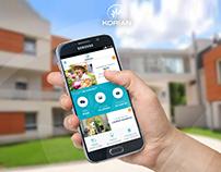 Korian - Application mobile
