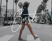 Berrta Signature Font