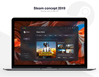 Steam concept