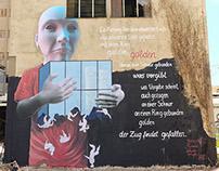 Mural - blind lead blind