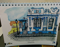 A House in Lapa - Illustration for Grafilapa's Calendar