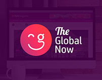 The Global Now Logo Design