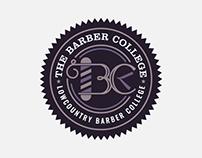 The Barber College Logo Design