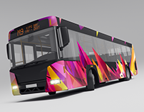 City Bus Advertising Mock-Ups Vol.1