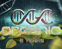 Organic 5 Years