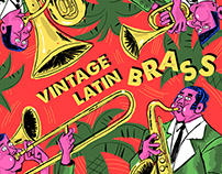 ILLUSTRATION - VINTAGE LATIN BRASS