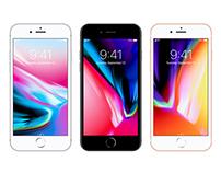 Free Vector Apple iPhone 8 Mockup Ai & EPS