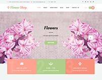 Florist WordPress theme