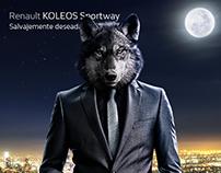 Renault Koleos Sportway Campaña creativa