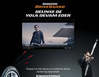 Bridgestone Driveguard / Landing Page