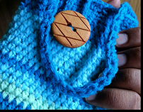 Handmade Crochet Phone Pouch