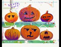 Halloween pumpkin time