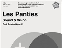 Les Panties - Swissted Posters