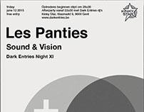 Les Panties - Swissted Posters
