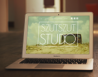 SzutSzut Studio corporate identity.