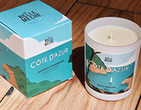 La Belle Mèche Candle Packaging