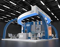 Roche TTOK exhibition stand & CGI