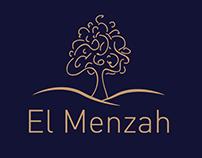 """Logo """" El Menzah"""""""