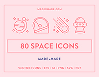 Line Icons – Space