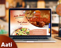 Restaurant Ain Aati Website