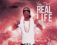 Real Life | Mixtape Tape Album CD Cover Template