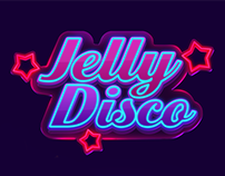 Jelly Disco game GUI