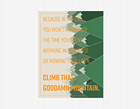 Climb That Goddamn Mountain