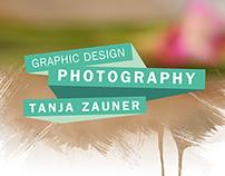 "CD, Graphic Design, Web Design / ""Tanja Zauner"""