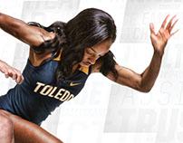 2018 Toledo Track & Field Poster